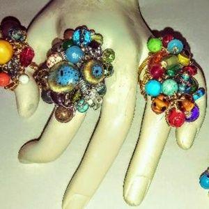 Bead Ring Set of Three